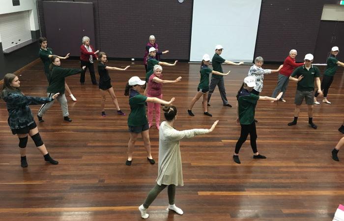 Dancing with Warrior Programme